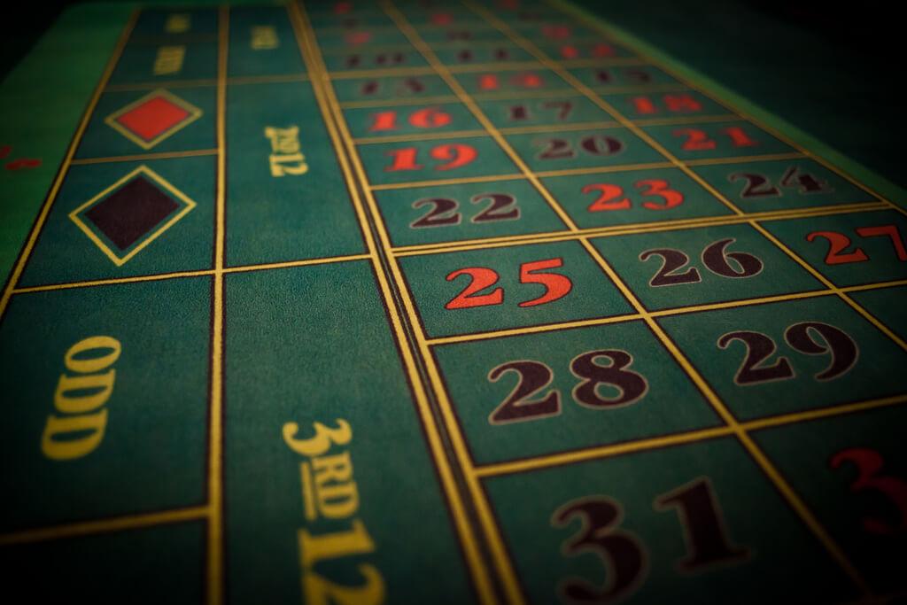 mesa de apuestas de la ruleta americana online