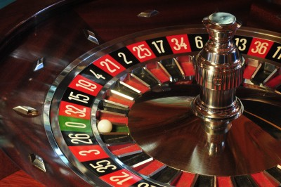 Rueda de Ruleta Europea de casino