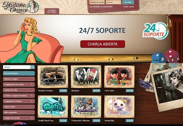 фото Сайт шанс официальный казино мадам