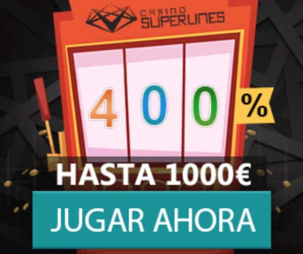 casino superlines bono