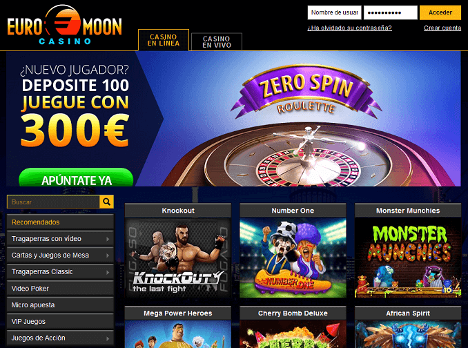 Euromoon Casino analisis
