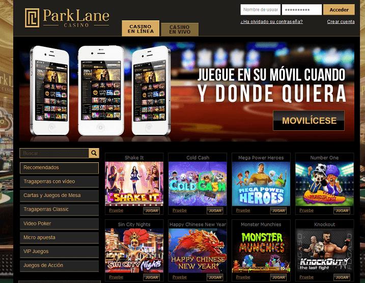 Parklane Casino analisis