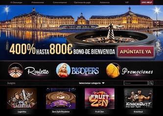 Casino Bordeaux analisis