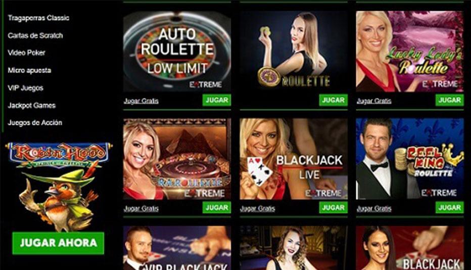 cashpot casino juegos en vivo