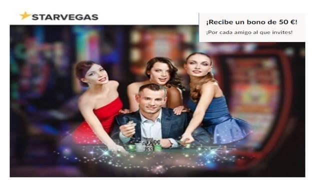 Jugar entre amigos da más dinero en Casino Starvegas