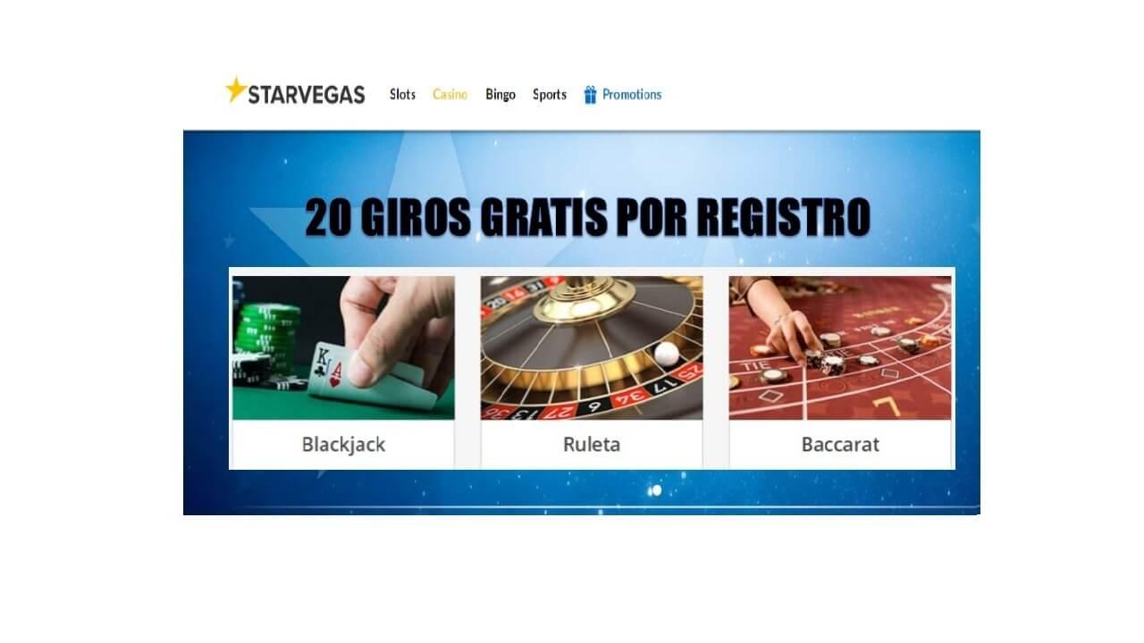 Tiradas gratis Casino Starvegas