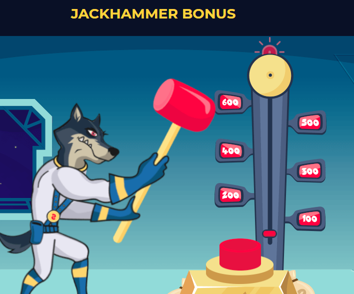 Jackhammer bonus